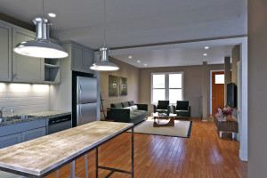 Tribeca RVA Interior Rendering From Kitchen